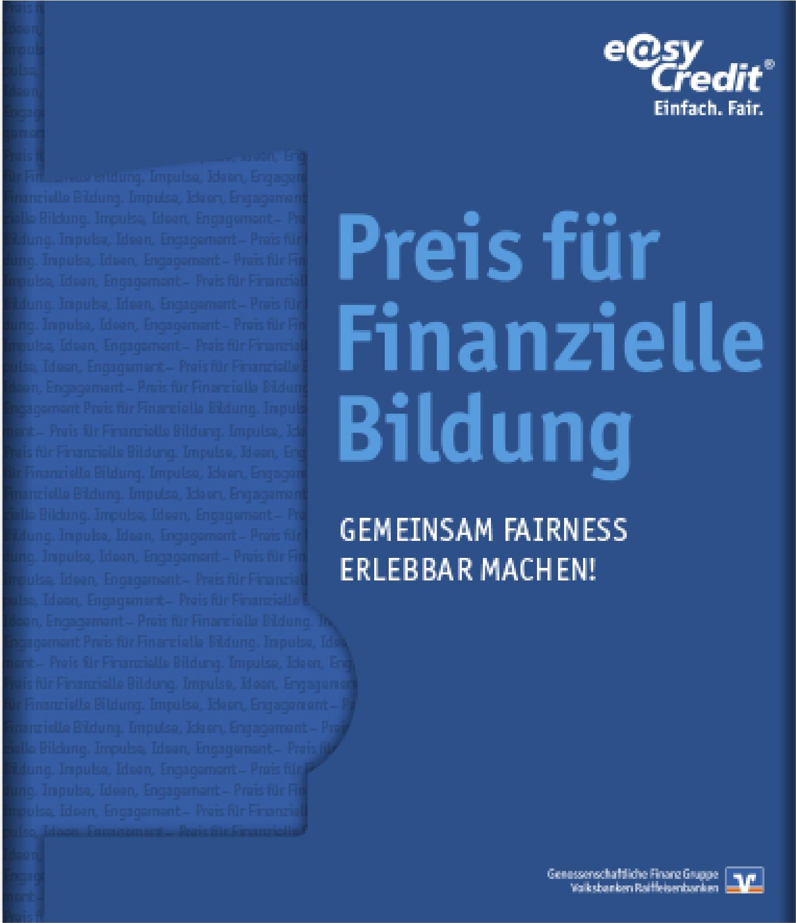 Preis für finanzielle Bildung